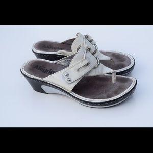 Alegria wedge sandals